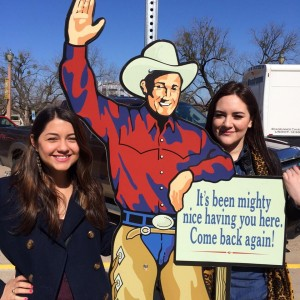 blog Image Texas Christian University IEP Students at the Rodeo!