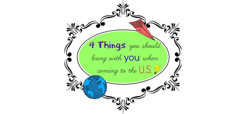 blog Image From Student Blogger Jessica: Four Things You Should Bring with You When Coming to the U.S.