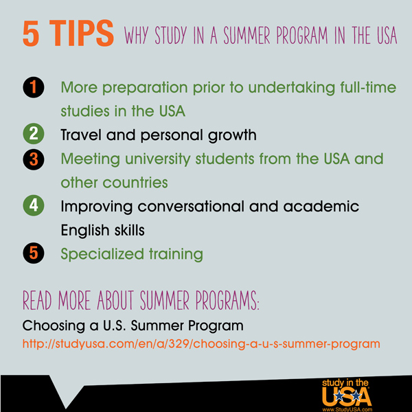 blog Image 5 Reasons to Study in a Summer Program