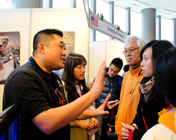 blog Image Fall 2014 American Education Fair in Taiwan!