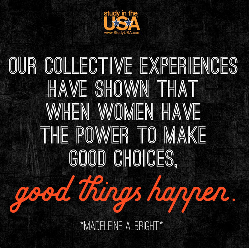 Blog post image for Monday Quote by Madeleine Albright