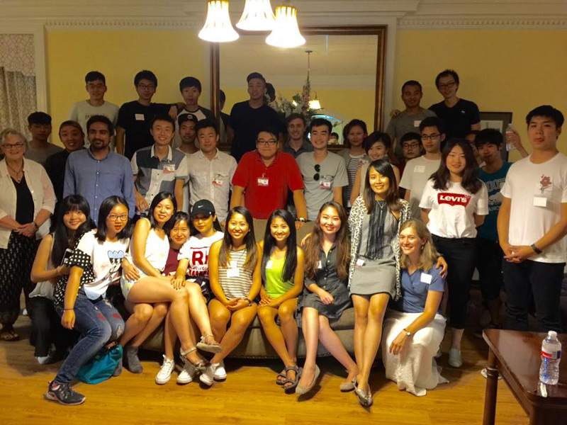 blog Image Welcome Party for the Chinese Students & Scholars Association at the University of Arkansas!