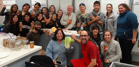 blog Image Kimchi Workshop 2015 at California State University Chico ALCI!