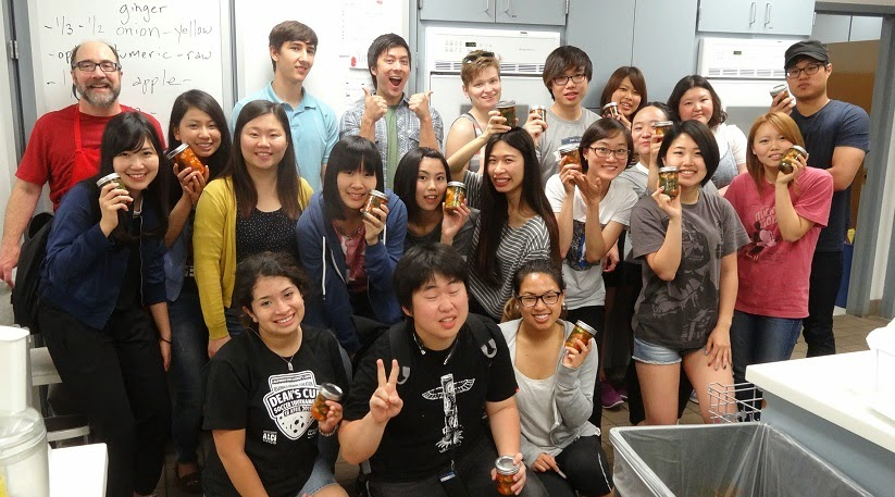 blog Image California State University-Chico students attend Kimchi Making Workshop!
