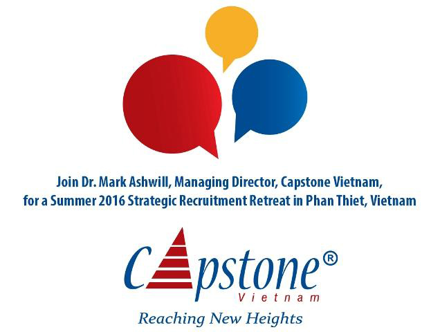 blog Image ​Vietnam Strategic Recruitment Retreat: June 17-19, 2016