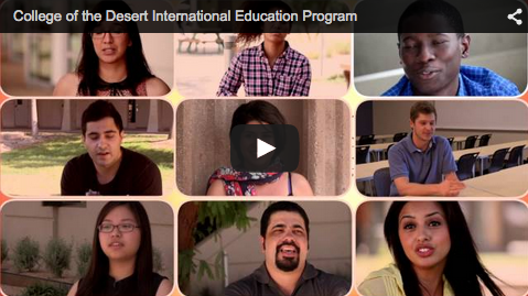 blog Image Video: College of the Desert International Education Program