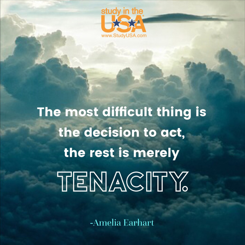 blog Image Monday Quote by Amelia Earhart