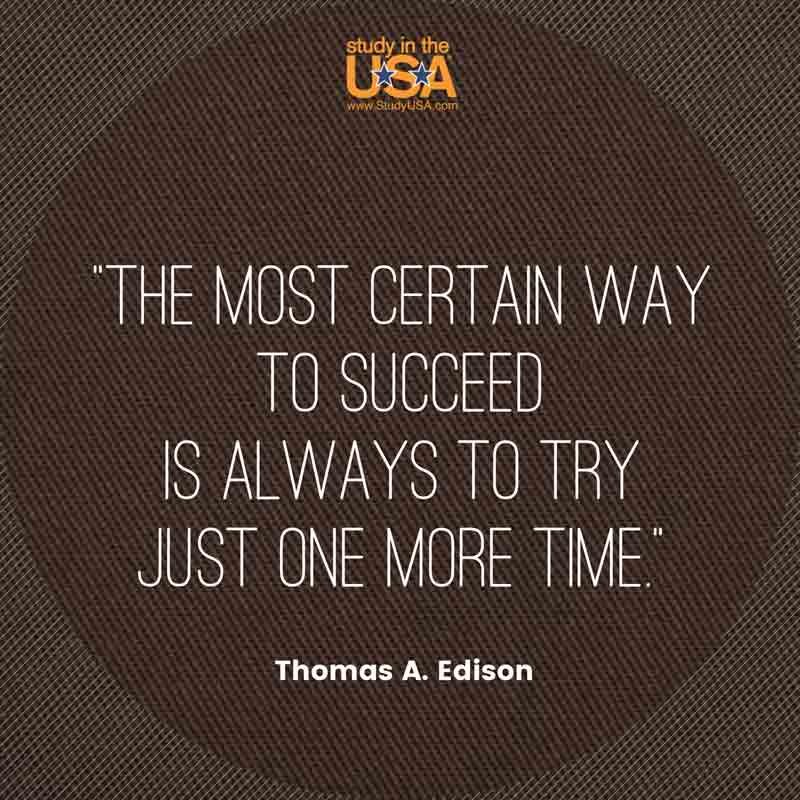 Blog post image for Monday Quote by Thomas Edison