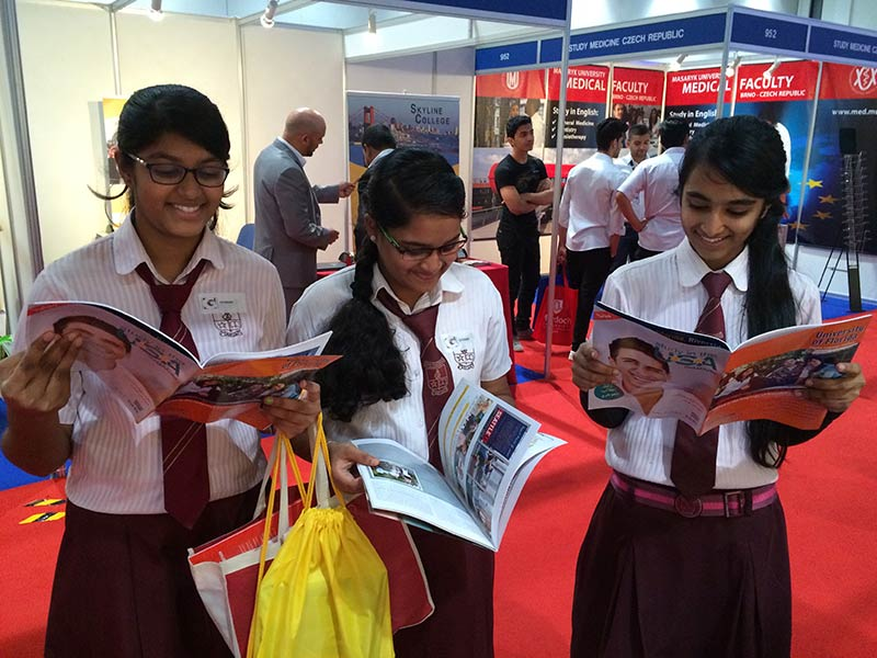 blog Image Study in the USA at GETEX Dubai