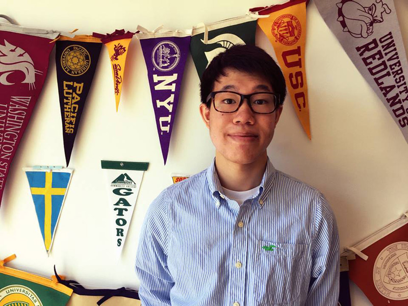 blog Image Congratulations to Green River College student Alex Tang!