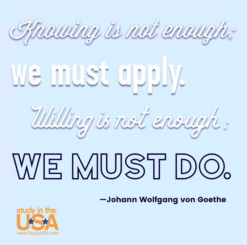 Blog post image for Monday Quote by Johann Wolfgang von Goethe