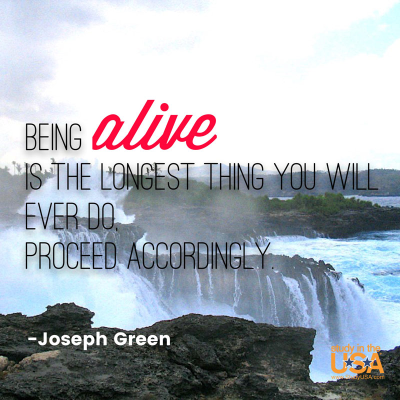 Blog post image for Monday Quote by Joseph Green