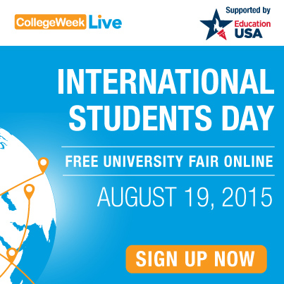 blog Image Wednesday is International Students Day at College Week Live