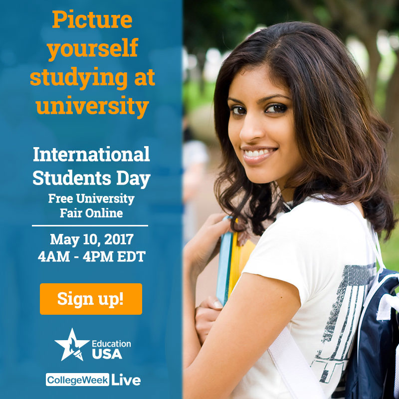 Blog post image for International Students Day is May 10th!