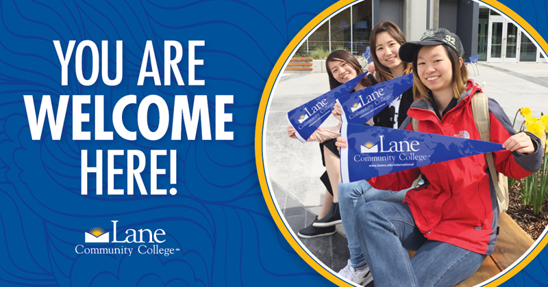 blog Image From Lane Community College: You Are Welcome Here!