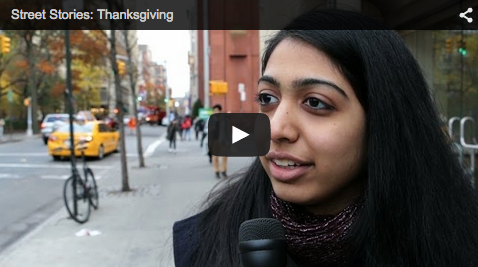 blog Image Video from NYU: Street Stories - Thanksgiving