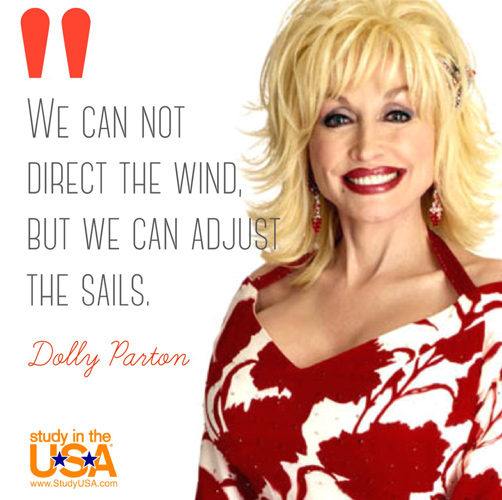 blog Image Monday Quote by Dolly Parton