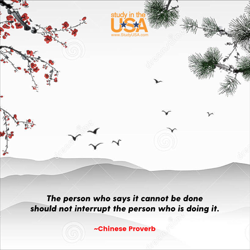 Blog post image for Monday Quote - Chinese Proverb