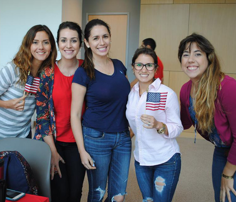 blog Image From Rice University's Intensive English Program: Independence Day Party