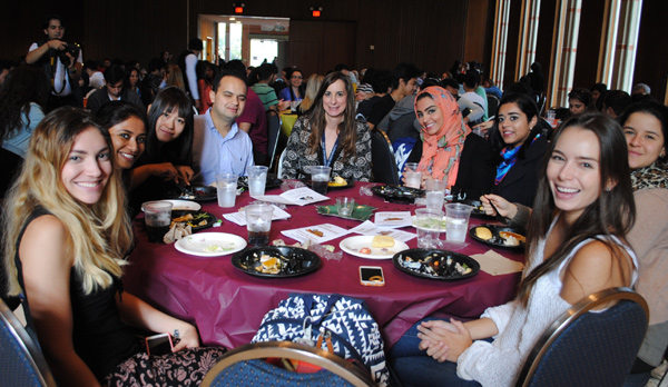 blog Image Rice University ESL Students Give Thanks for Food and Friends!