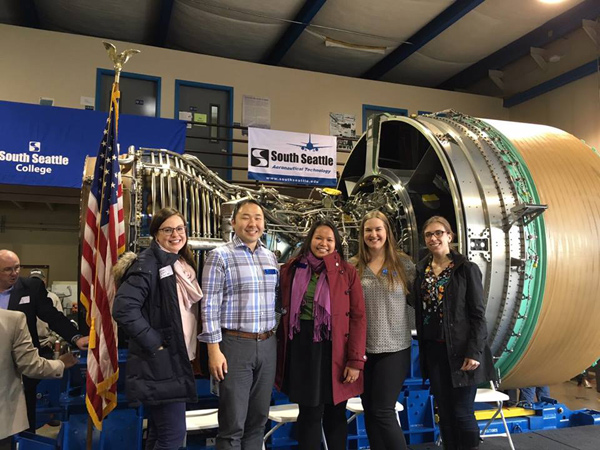 blog Image South Seattle College Acquires 777 Engine from Boeing!