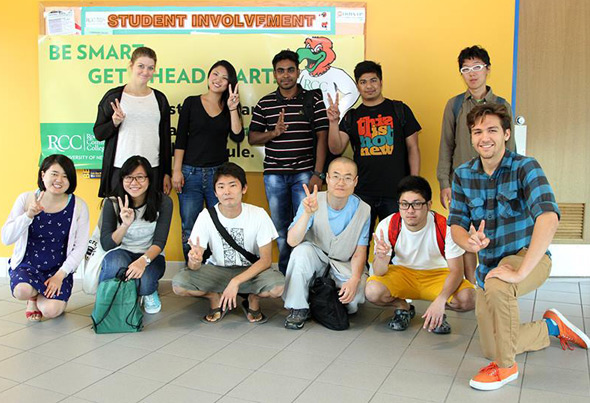 blog Image Fall 2015 International Students Orientation at SUNY RCC!