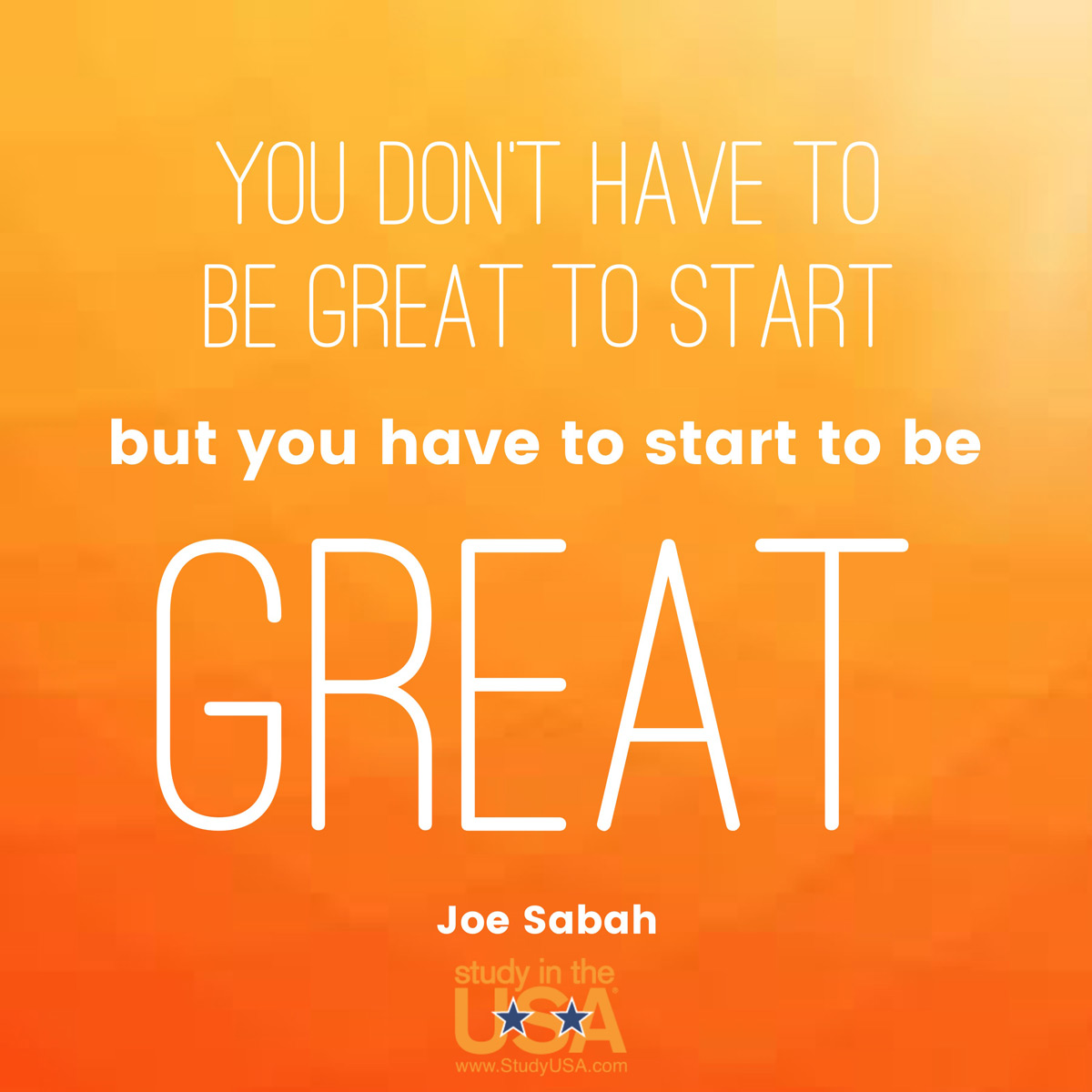 Blog post image for Monday Quote by Joe Sabah