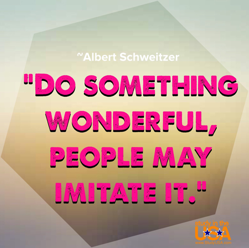 blog Image Monday Quote by Albert Schweitzer