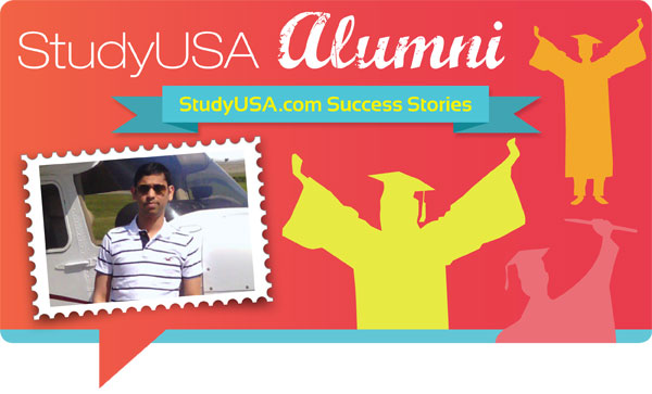 blog Image StudyUSA Alumni! A StudyUSA.com member shares his university success.