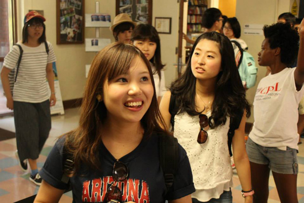 blog Image From University of Arizona CESL​: Fall 2015 Intake and Orientation Week!