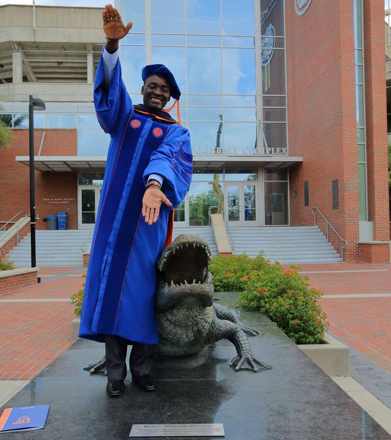 blog Image University of Florida College of Law graduate Espoir Ndandou