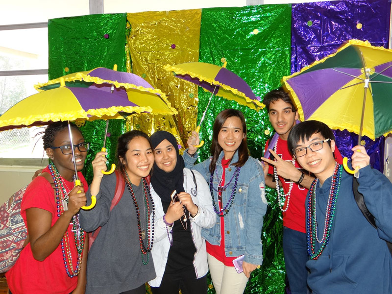 Blog post image for Mardi Gras at University of Louisiana at Lafayette!