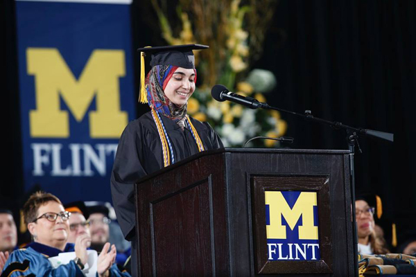 blog Image Commencement Ceremony at University of Michigan-Flint