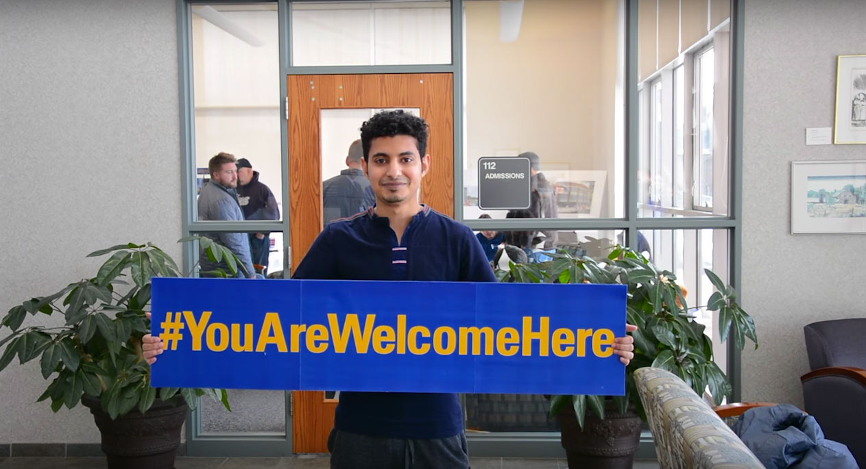 Blog post image for Western New England University says: You Are Welcome Here!