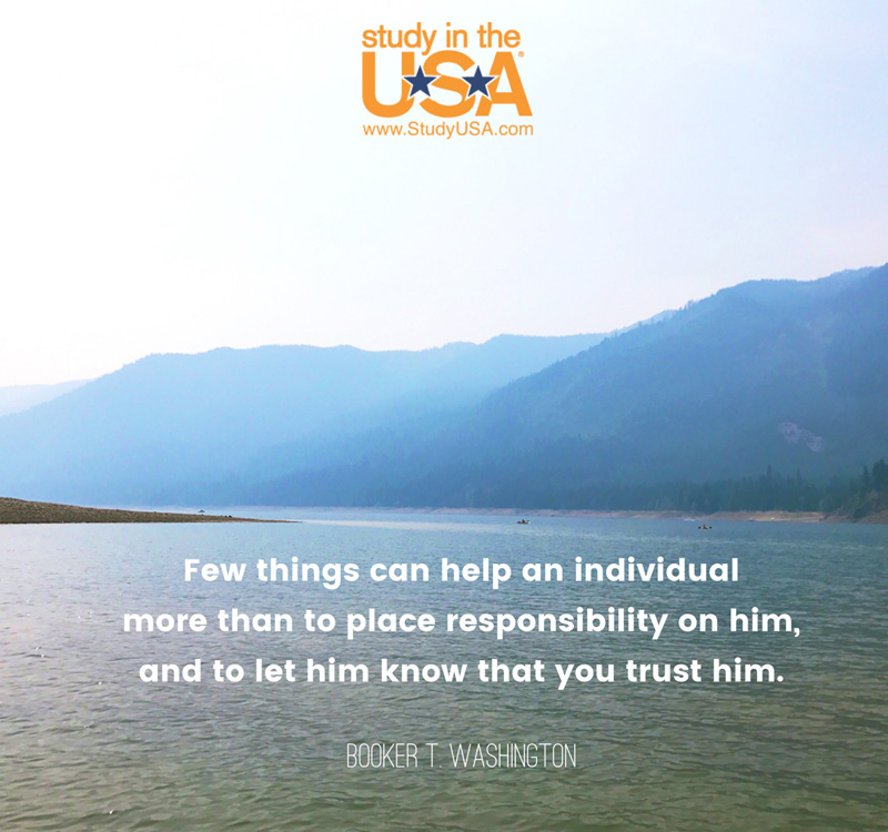 Blog post image for Monday Quote by Booker T. Washington