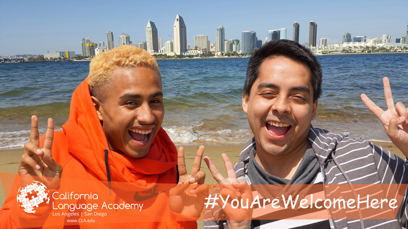 blog Image From California Language Academy: You Are Welcome Here!