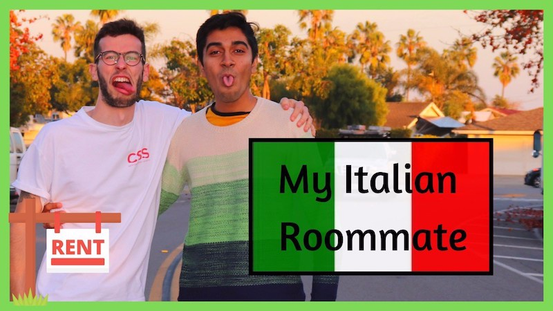 Blog post image for From Student Blogger, Nand: Me and my Italian roommate