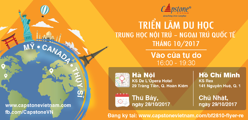 Blog post image for International Boarding and Day School Fairs in Vietnam: Oct 28-30