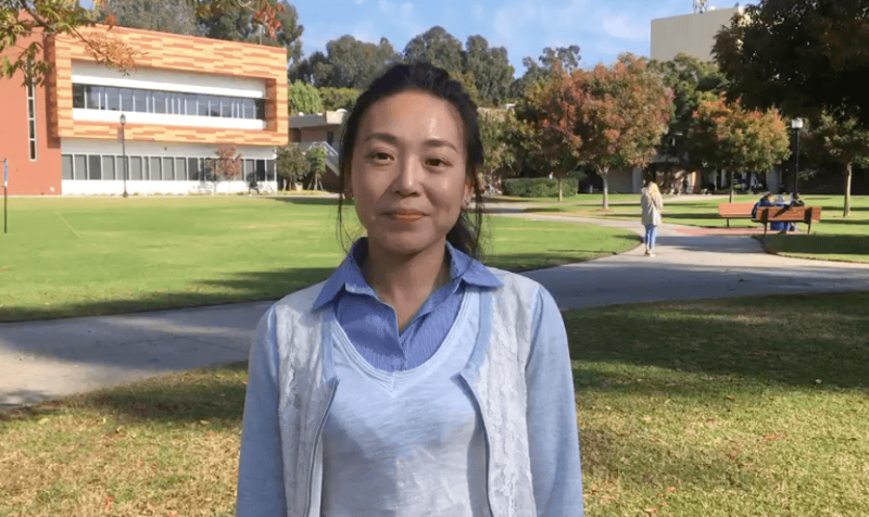 Blog post image for Erin (Chun Ling) Lee is majoring American Sign Language Interpreting at Golden West College
