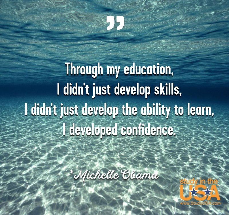 Blog post image for Monday Quote by Michelle Obama