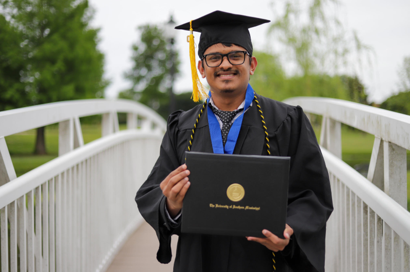 Blog post image for GRADUATION SPOTLIGHT: Amit Tripathi from Nepal