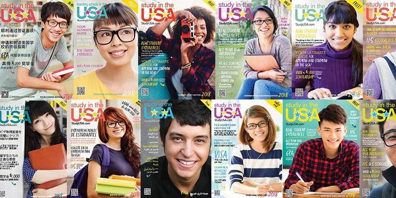 blog Image 2018 Study in the USA Magazines!