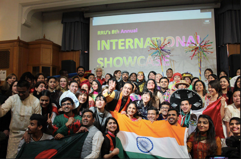 blog Image Royal Roads University hosted its annual international showcase