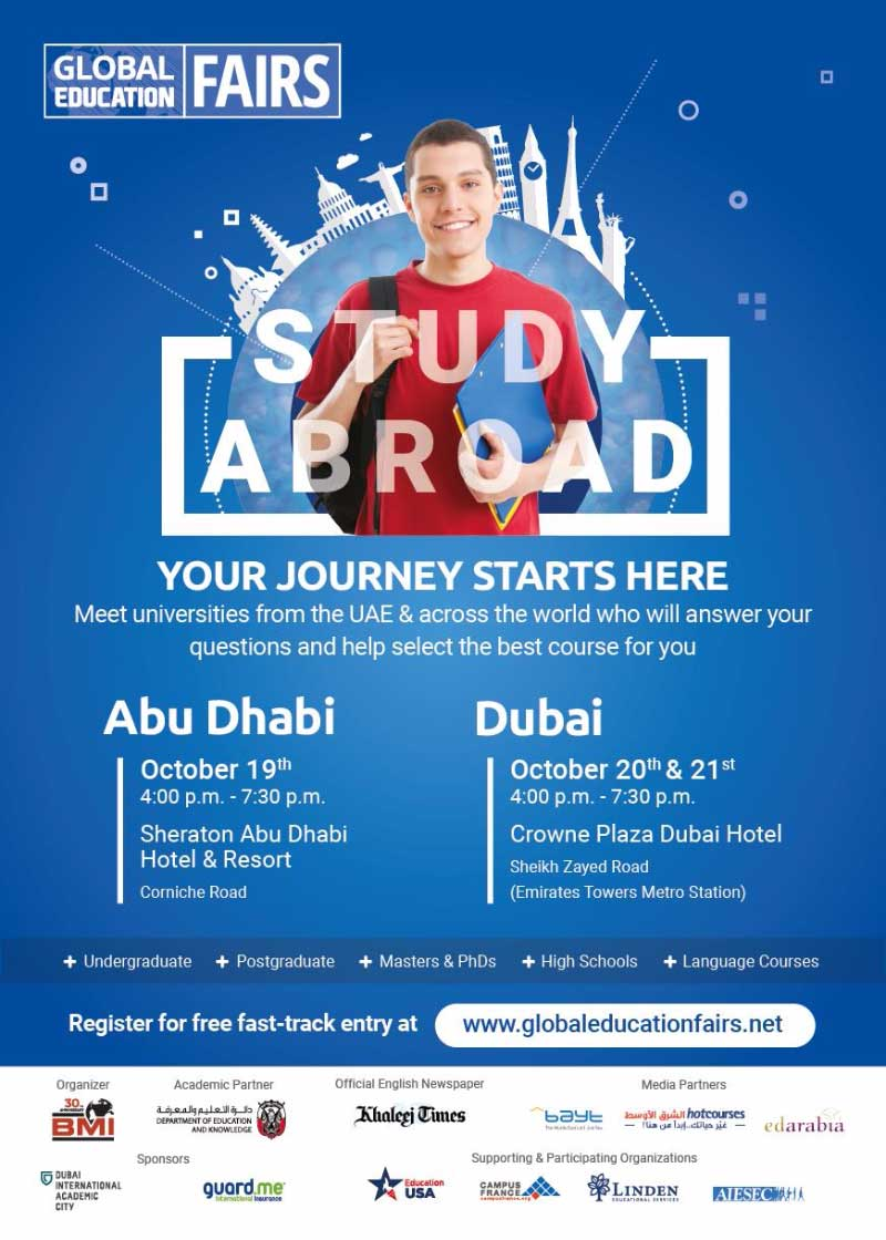 Blog post image for BMI's Global Education Fair will be in Dubai on Oct 20-21