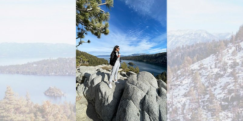 Blog post image for Inspired and Ready for Spring '21: Exploring Lake Tahoe's Emerald Bay