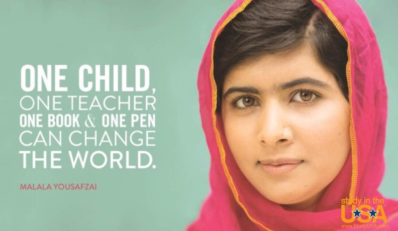 Blog post image for Monday Quote by Malala Yousafzai