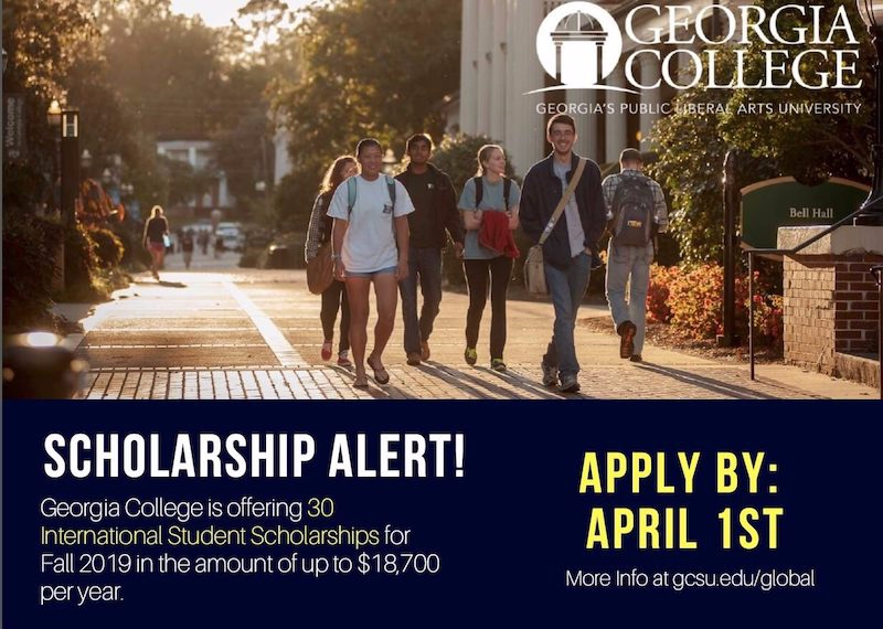 blog Image Scholarship Announcement from Georgia College