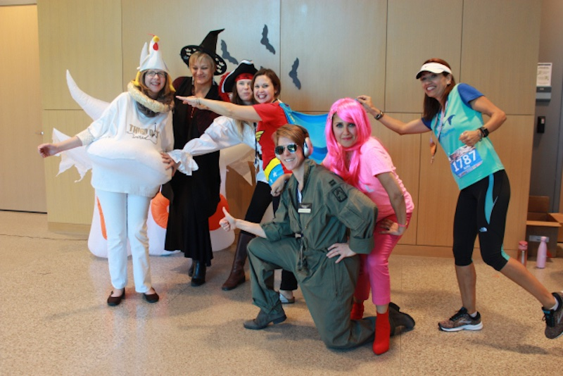 Blog post image for RICE University ESL Students Annual Halloween Pizza Party & Costume Contest!
