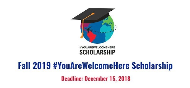 blog Image Announcing the Fall 2019 #YouAreWelcomeHere Scholarship