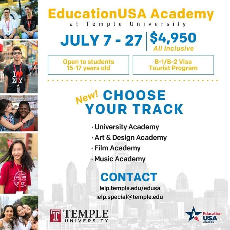Blog post image for From Student Blogger, Diana: EducationUSA Academy at Temple University